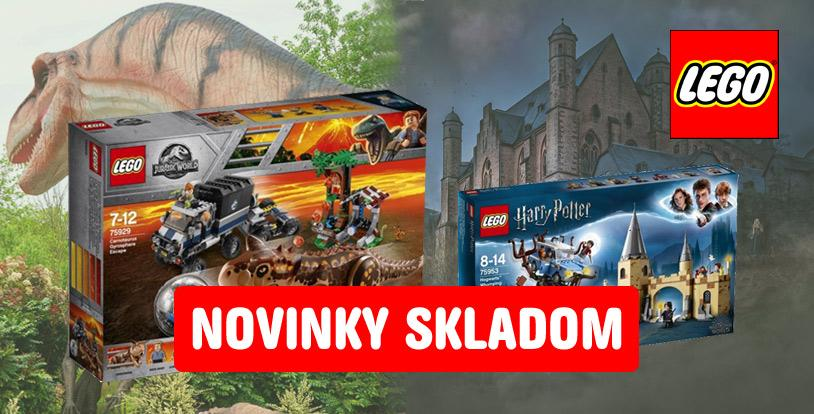 LEGO Jurraic Park a Harry Potter
