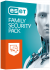 ESET Family Security pack 4PC + 18mesiacov