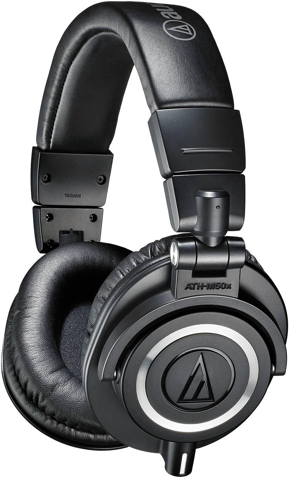 Audio-Technica ATH-M50X modré