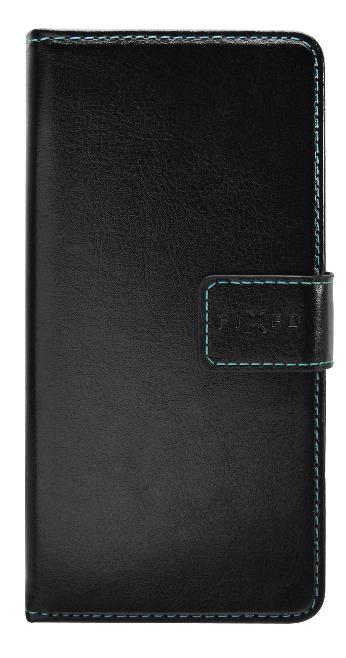 FIXED Opus Puzdro typu kniha pre Huawei P30 Lite, čierne FIXOP-383-BK