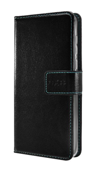 FIXED Opus Pouzdro typu kniha pre Galaxy A20e, čierne FIXOP-399-BK