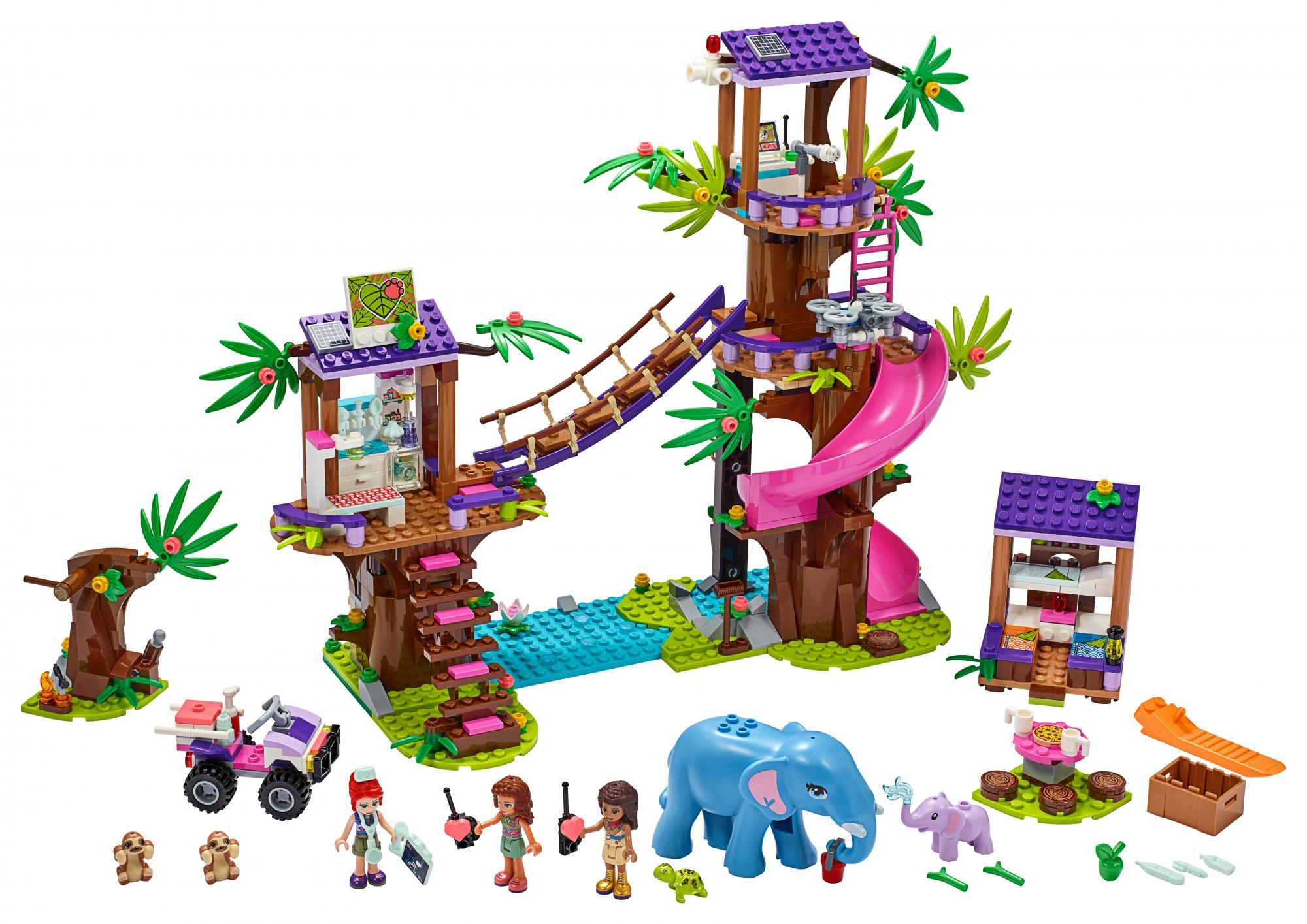 LEGO Friends Základňa záchranárov v džungli  + VYHRAJ PEUGEOT 208 - Stavebnica