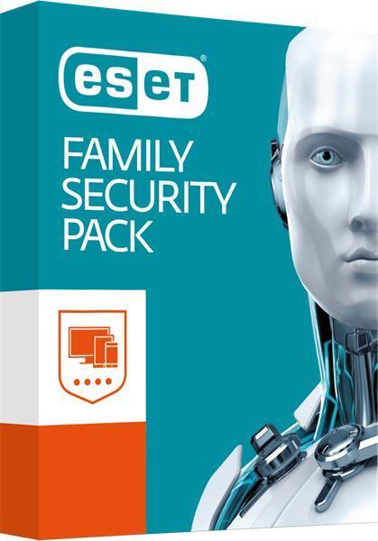 ESET Family Security pack 4PC + 18mesiacov Predĺženie - elektronická licencia