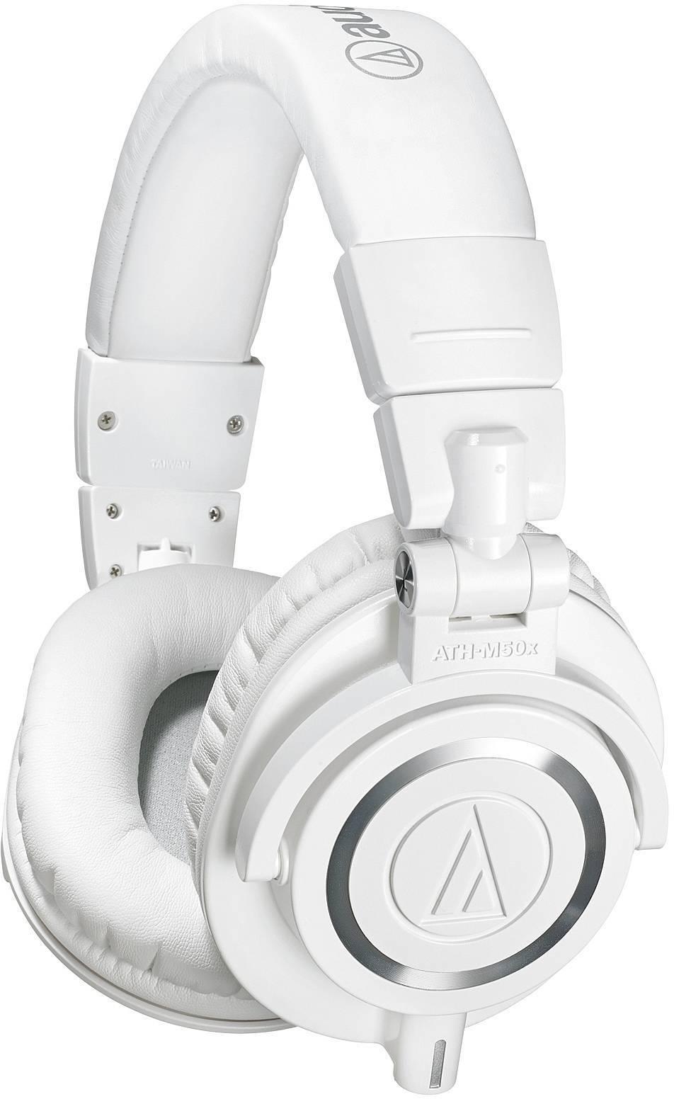 Audio-Technica ATH-M50X biele