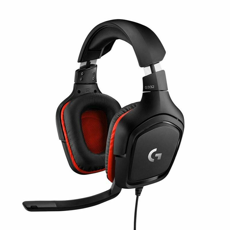Logitech G332 Gaming Headset Leatheratte 981-000757