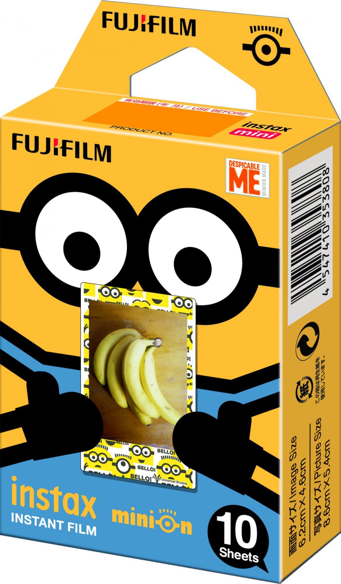 Fujifilm Instax Mini FILM 10 Minion DMF