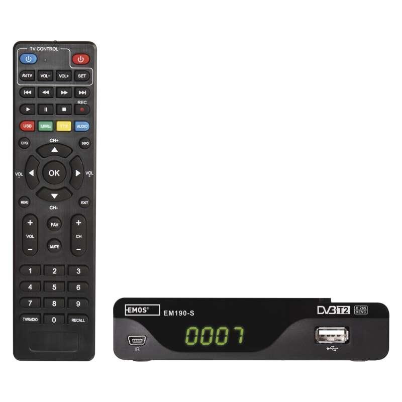 Emos EM190-S HD HEVC H265 (DVB-T2) J6014