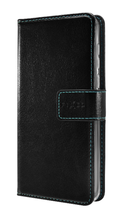 FIXED Opus Puzdro typu kniha pre Huawei P30, čierne FIXOP-382-BK