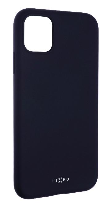 FIXED Story Zadný pogumovaný kryt pre iPhone 11, modrý FIXST-428-BL