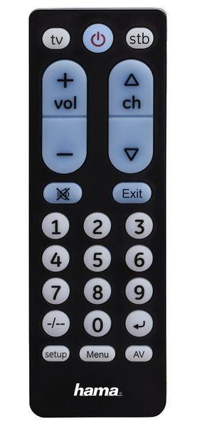 a5b8ab30b Hama Big Zapper 2v1 (40072) - Univerzálny diaľkový ovládač