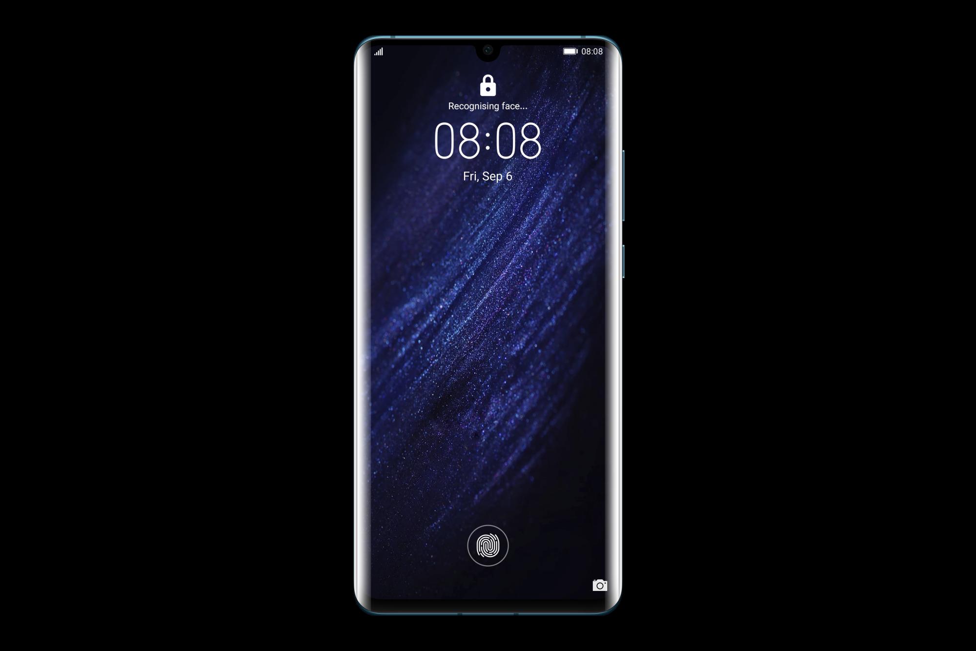 HUAWEI P30 Pro Dual SIM Mystic Blue 51094UHT + HUAWEI Band 4