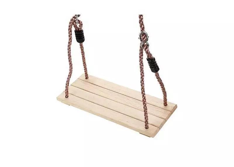 Hojdacka LEQ KATANA, detská, drevená - Detská hojdačka