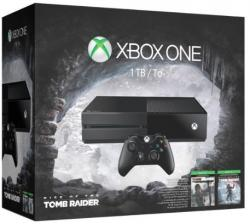 Microsoft XBOX ONE 1TB + Rise of the Tomb Rider + Tomb Raider Definitive Edition