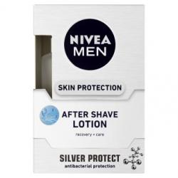 Nivea MEN After Shave Lotion Silver Protect 100ml