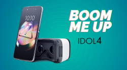 Alcatel IDOL 4 6055K + VR BOX šedý