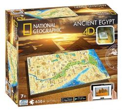 4D Cityscape 4D Puzzle National Geographic Staroveký Egypt