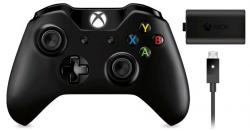 Microsoft XBOX ONE Wireless Controller + Play & Charge Kit