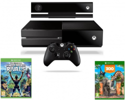 Microsoft XBOX ONE 500GB + Kinect + Kinect Sports Rivals + Zoo Tycoon