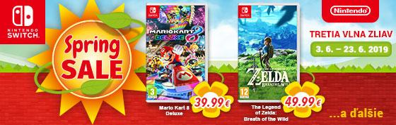 Switch Nintendo Spring Sale 2019