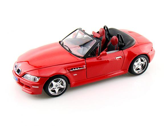 Bburago BMW M Roadster 1:18 Gold - červené - Model auta