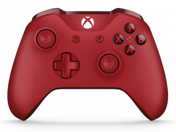 Microsoft XBOX ONE S Wireless Controller Červený - Gamepad