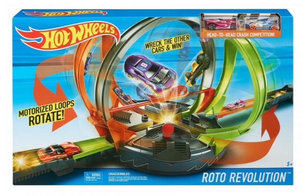 Mattel Hot Wheels Dráha Roto Revolucia FDF26 - Hot Wheels dráha