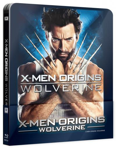 X-Men Origins: Wolverine (steelbook + lenticular) - Blu-ray film
