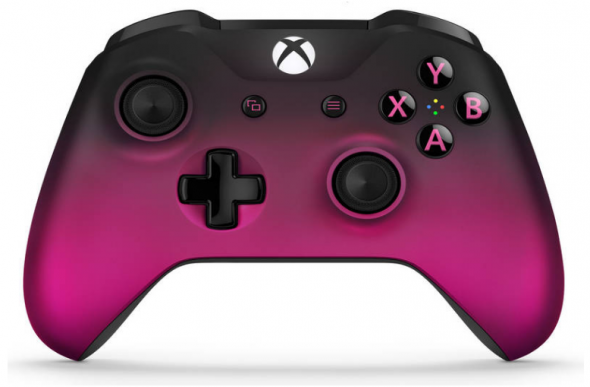Microsoft XBOX ONE S Wireless Controller Templeton magenta - Gamepad
