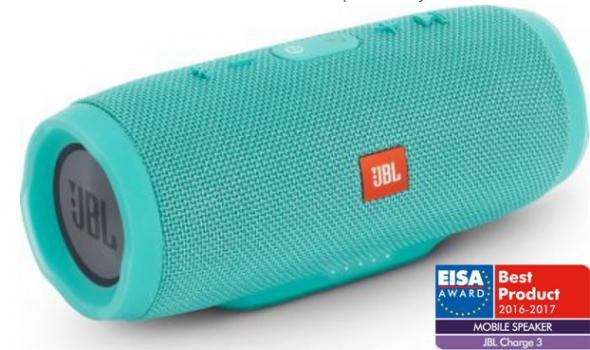 JBL CHARGE3 Teal - Bluetooth reproduktor