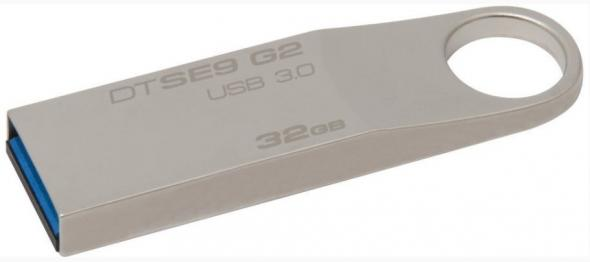 Kingston DataTraveler SE9 G2 32GB kovový - USB 3.0 kľúč