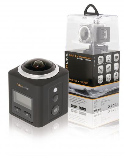 Camlink CL-AC360 - Full HD Action Camera 2K Wi-Fi / Microphone Black