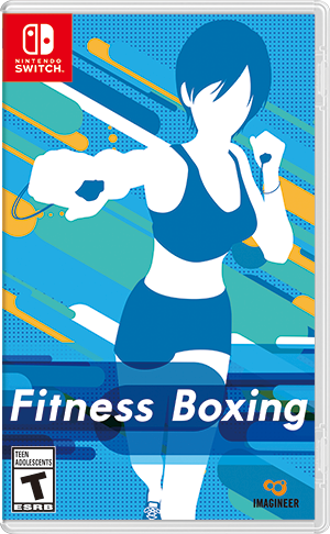 Nintendo Fitness Boxing - Switch hra