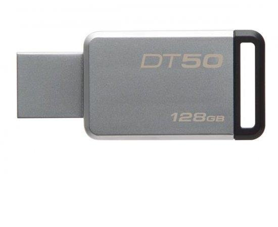 Kingston DataTraveler 50 128GB (Metal/Black) - USB 3.1 kľúč