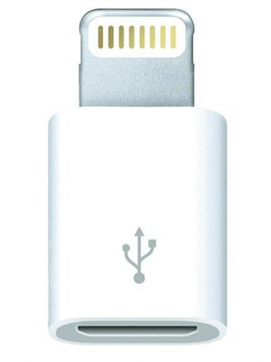 Apple Lightning to Micro USB Adapter (MD820ZMA) - Adaptér