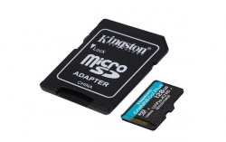 Kingston Canvas Go Plus MicroSDXC 128GB class 10 (r170MB,w90MB)  + VYHRAJ PEUGEOT 208