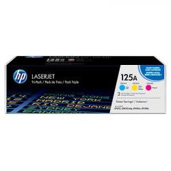 HP 125A 3-pack Cyan/Magenta/Yellow