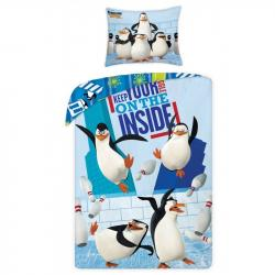 Posteľná súprava 1+1 the Penguins of Madagascar Bedding
