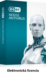 ESET NOD32 Antivirus 4PC + 1rok