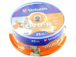 Verbatim DVD-R 25ks, 4.7GB 16x