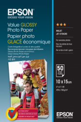 Epson Value Glossy Photo 183g - 10x15cm - 100 str.