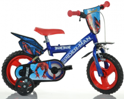 "DINO Bikes 123GLSPH 2018 12"" Spiderman Home"