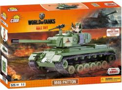 COBI World of Tanks M46 Patton 525 k, 1 f