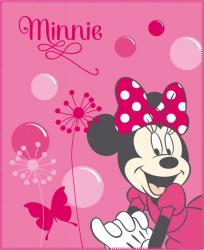 Deka fleece 110x140 Minnie Bows