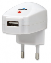 Manhattan USB charger, nabíjačka