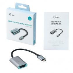i-Tec Metal USB-C VGA Adapter 60Hz