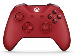 Microsoft XBOX ONE S Wireless Controller Červený