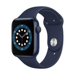 Apple Watch Series 6 GPS, 44mm Blue Aluminium Case with Deep Navy Sport Band  + VYHRAJ PEUGEOT 208