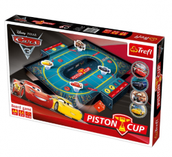 Trefl hra Piston Cup Cars 3