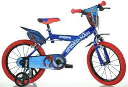 "DINO Bikes 143GSPH 2017 14"" Spiderman Home"