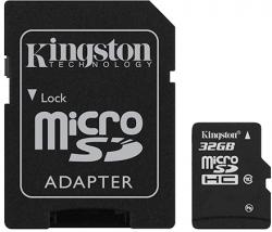 Kingston MicroSD(HC) 32 GB Class 10